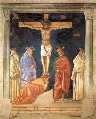 Crucifixion and Saints WGA