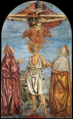 The Holy Trinity St Jerome and Two Saints WGA