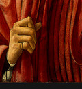 Andrea del Castagno Portrait of a Man, c 1450, Detalj 3, NG