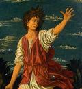 Andrea del Castagno The Youthful David, c 1450, Detalj 1, NG