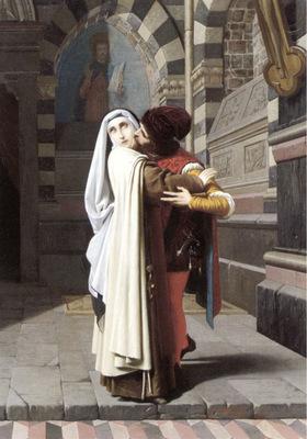 The Embrace of Fra Filippo Lippi and Lucrezia Buti