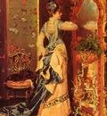 Catala Luis Alvarez Woman Before A Mirror