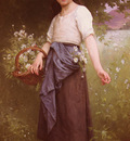 Cave Jules Cyrille Picking Daisies