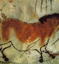 CAVE PAINTING HORSE, C 15,000 10,000 BC