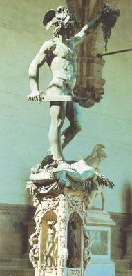 cellini perseus 1545
