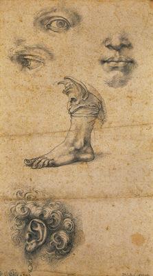 Cellini Benvenuto Five studies