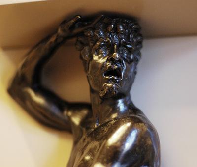 Cellini Benvenuto Satyr detail
