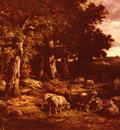 Ceramano Charles Ferdinand Le Troupeau De Moutons