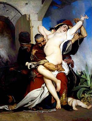 Cermak Jaroslav The Abduction of a Herzegovenian Woman