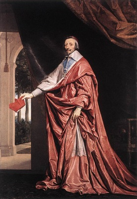 Champaigne Cardinal Richelieu