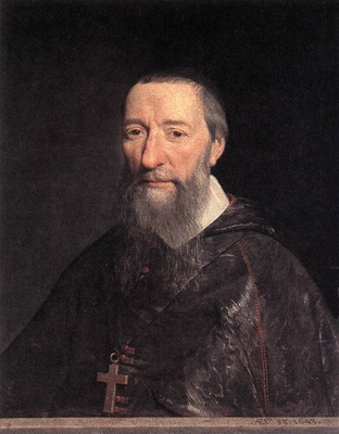 Champaigne Portrait of Bishop Jean Pierre Camus