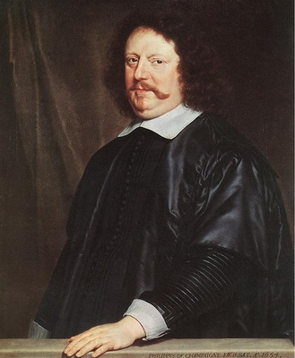 Champaigne Portrait of Henri Groulart