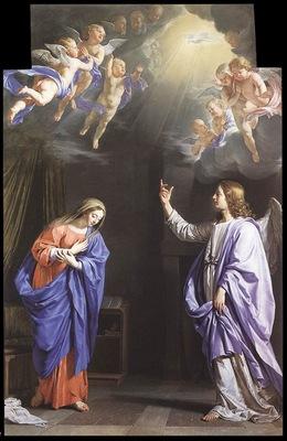 Champaigne The Annunciation