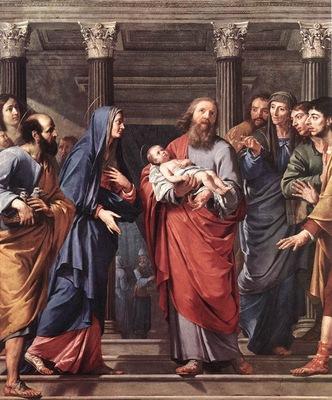 Champaigne The Presentation of the Temple