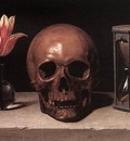 Champaigne Still Life with a Skull