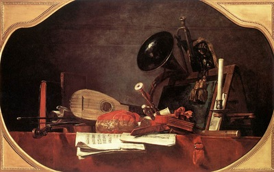 Chardin Attributes of Music