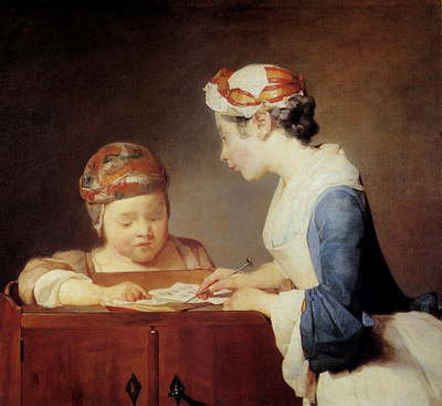 Chardin Jean Baptiste The Teacher