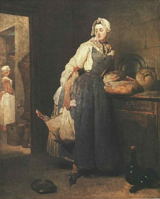 Chardin Return from the Market