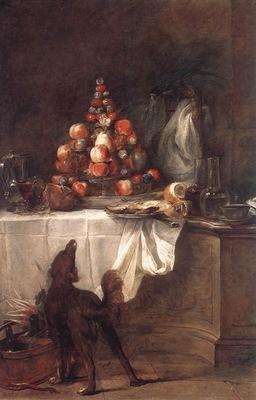 Chardin The Buffet