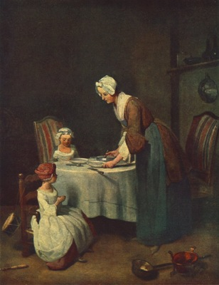 Chardin The Prayer before Me