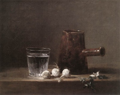 Chardin Water Glass and Jug