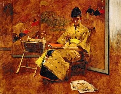 Chase, William Merrit The Kimono end