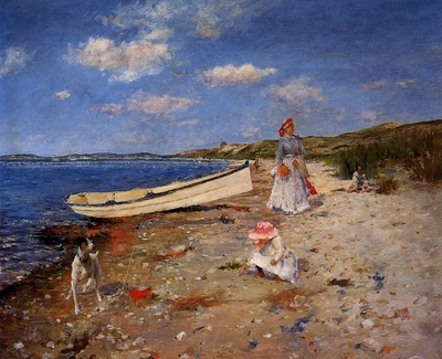 Chase William Merritt A Sunny Day at Shinnecock Bay