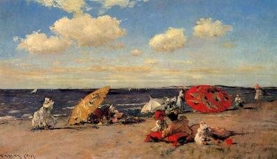 Chase William Merritt At the Seaside