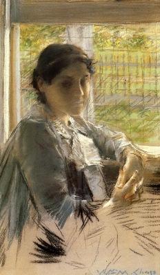 Chase William Merritt At the Window
