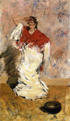Chase William Merritt Dancing Girl