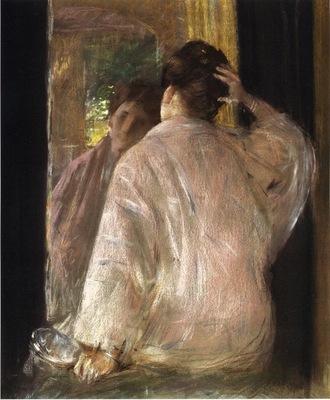 Chase William Merritt Dorothy mirror