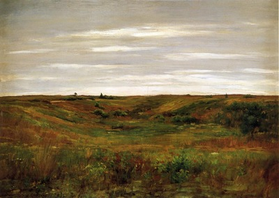 Chase William Merritt Landscape A Shinnecock Vale
