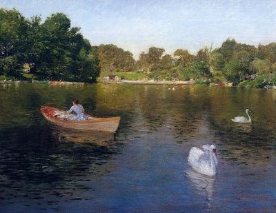 Chase William Merritt On the Lake Central Park2