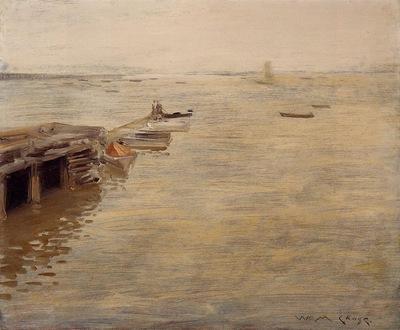 Chase William Merritt Seashore aka A Grey Day