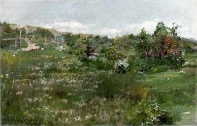 Chase William Merritt Shinnecock Landscape 26x40cm