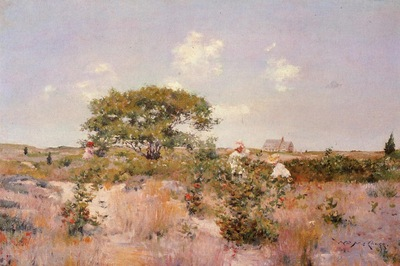 Chase William Merritt Shinnecock Landscape c1892