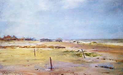 Chase William Merritt Shore Scene