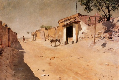 Chase William Merritt Spanish Village