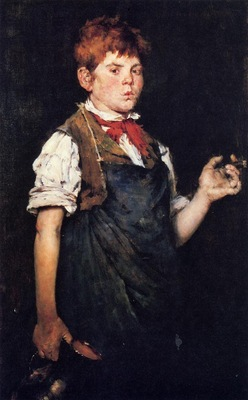 Chase William Merritt The Apprentice aka Boy Smoking