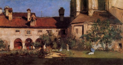 Chase William Merritt The Cloisters