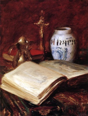 Chase William Merritt The Old Book