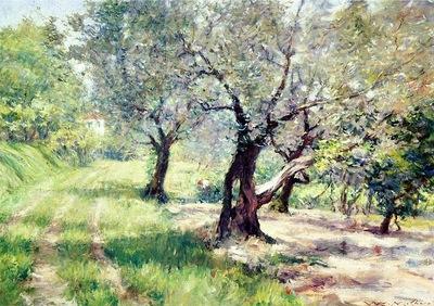 Chase William Merritt The Olive Grove