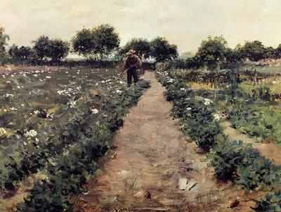 Chase William Merritt The Potato Patch aka Garden Shinnecock