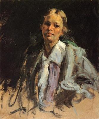 Chase William Merritt Young Girl