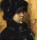 Chase William Merritt A Portrait Study