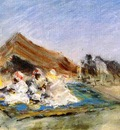 Chase William Merritt Arab Encampment