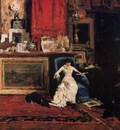 Chase William Merritt Interior of the Artist s Studio aka The Tenth Street Studio