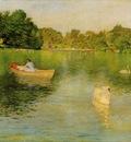 Chase William Merritt On the Lake Central Park
