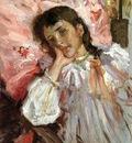 Chase William Merritt Tired aka Portrait of the Artist s Daughter