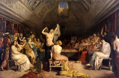 chasseriau theodore the tepidarium